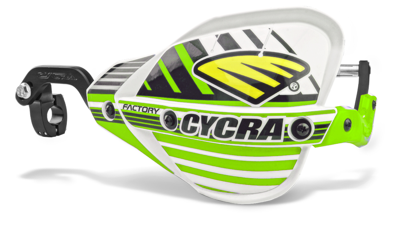 Factory Pro Bend CRM Racer Pack:  7/8 Clamps: Green