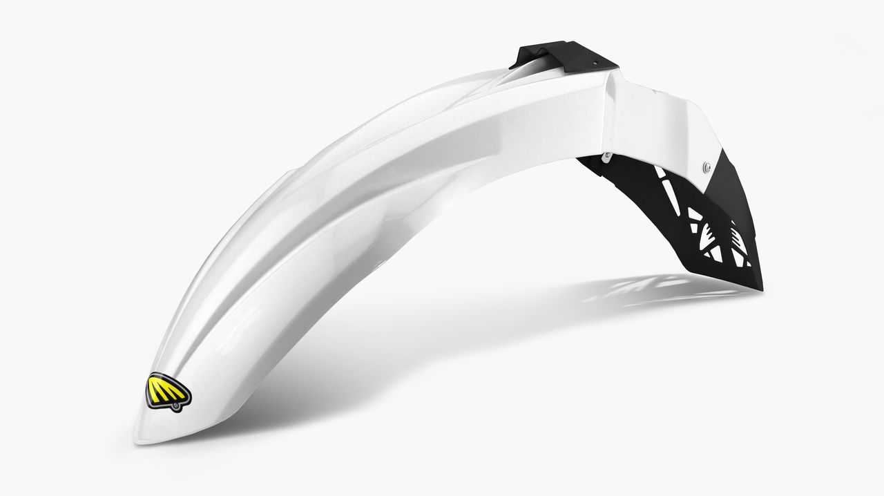 Cycralite Front Fenders White