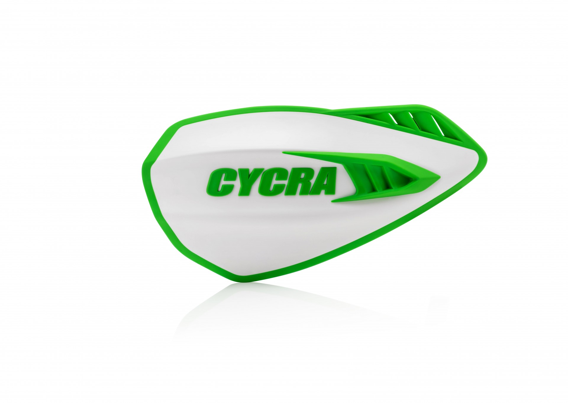 Cyclone Hand Guards White/Green