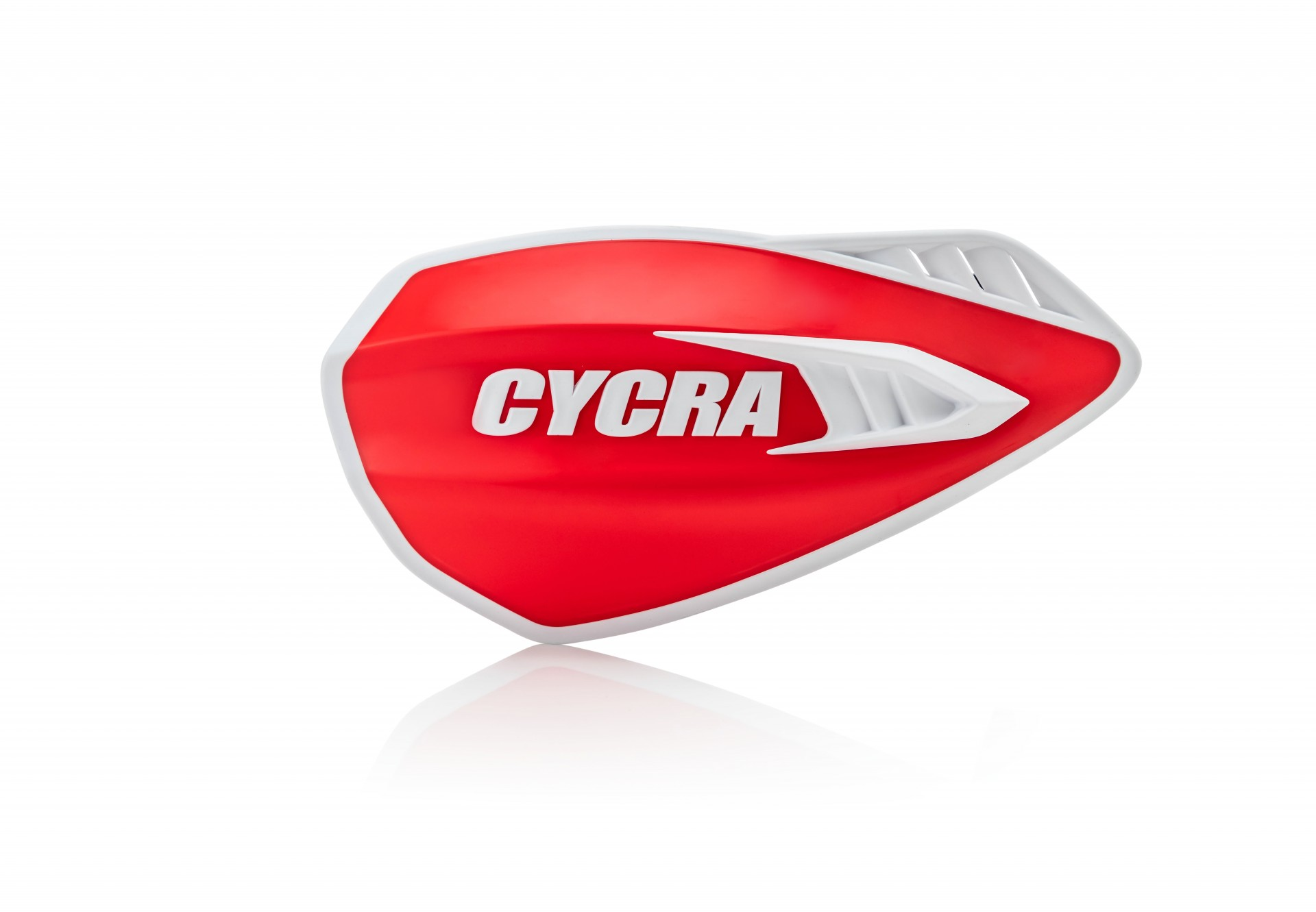 Cyclone Hand Guards Red/White