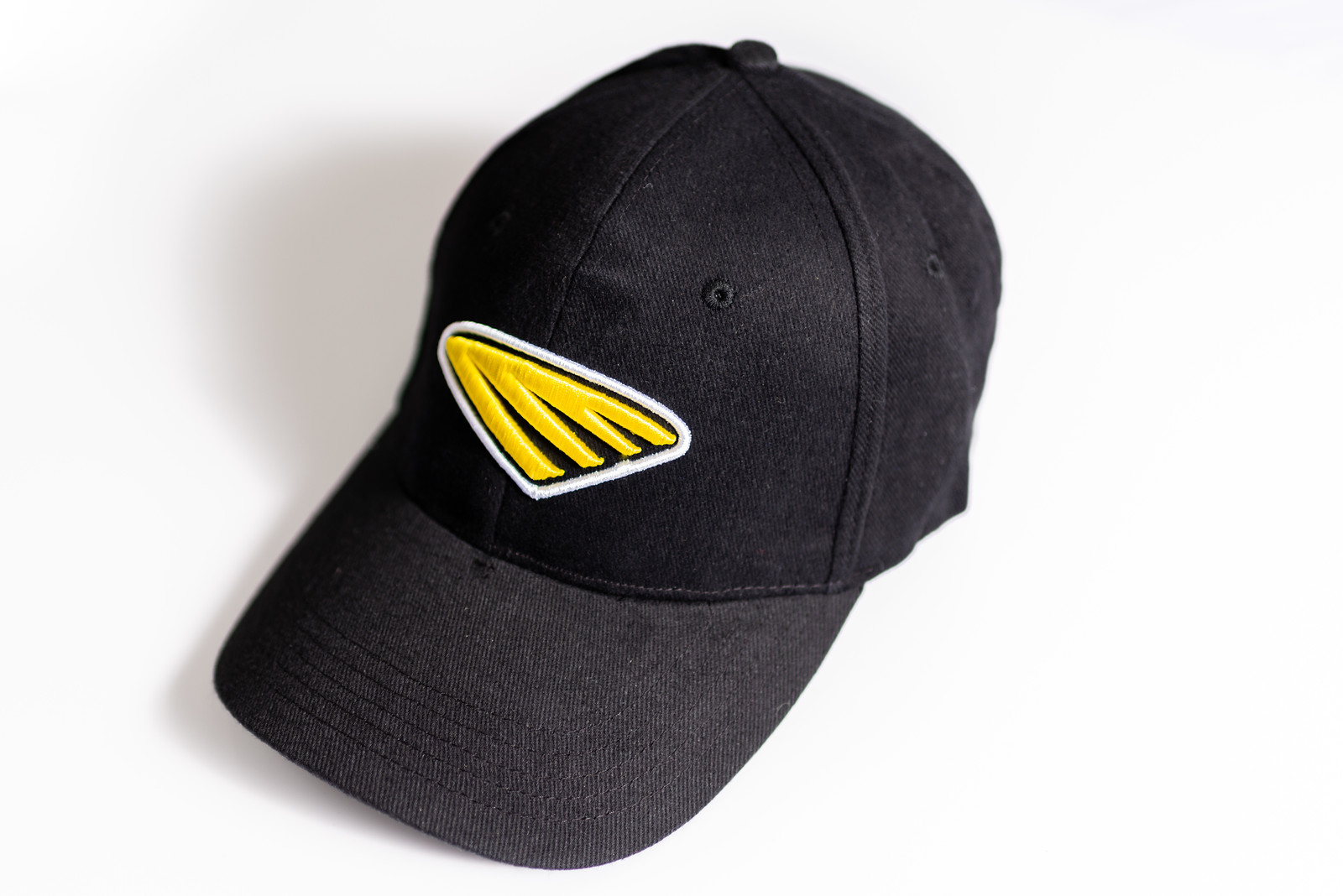 Cycra Icon Hat Flex Fit Black/Yellow S/M